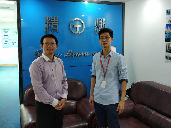 上海精测电子有限公司智邦国际ERP系统实施现场