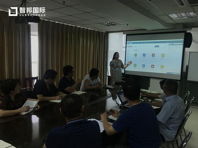 青岛电气设备有限公司智邦国际ERP系统实施现场